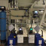 Fertige Installation Kühlwasseranlage Kühlturm bzw. Verdunstungskühlungsanlage