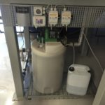 Platzsparende Installation einer Rauchgasneutralisation